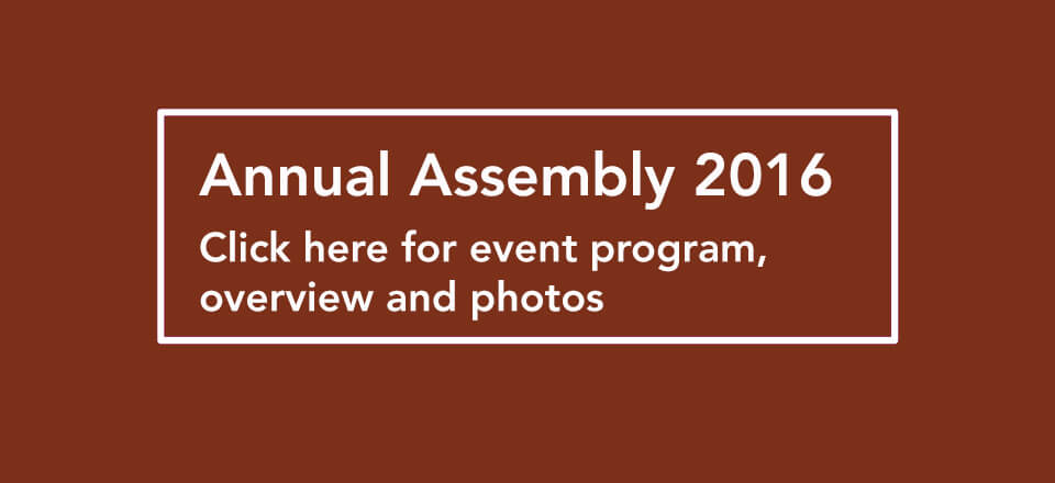 EARTH BLOCK Annual Assembly 2016
